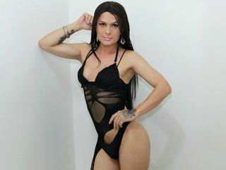 image of tranny cam model KristalWellsTS