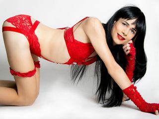 image of tranny cam model lunaQUEENxxx